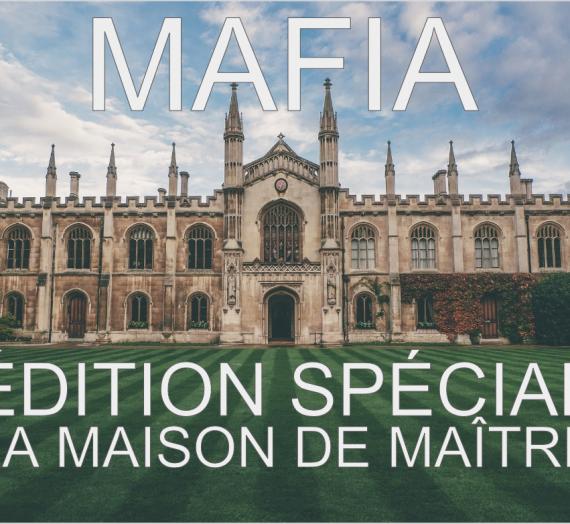 Mafia: A Speaking Game for Language Classes